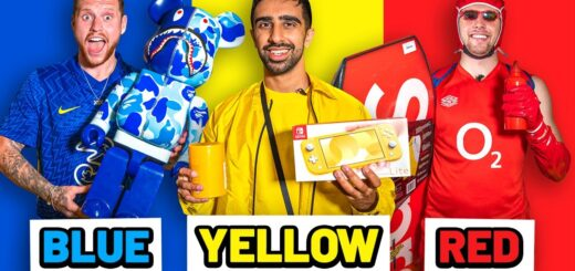 SIDEMEN BUYING ONE COLOUR FOR 24 HOURS