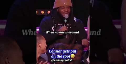 Connor gets put on the spot in Wild 'N Out😂