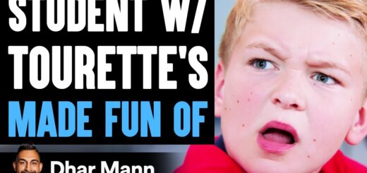 Student With TOURETTE'S Made Fun Of, What Happens Is Shocking   Dhar Mann